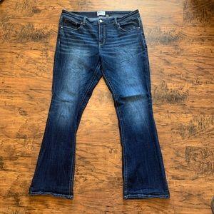 BKE women's bootcut Jeans 36x33 1/2